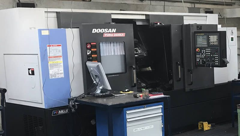 High Specification Horizontal Turning with Y-Axis